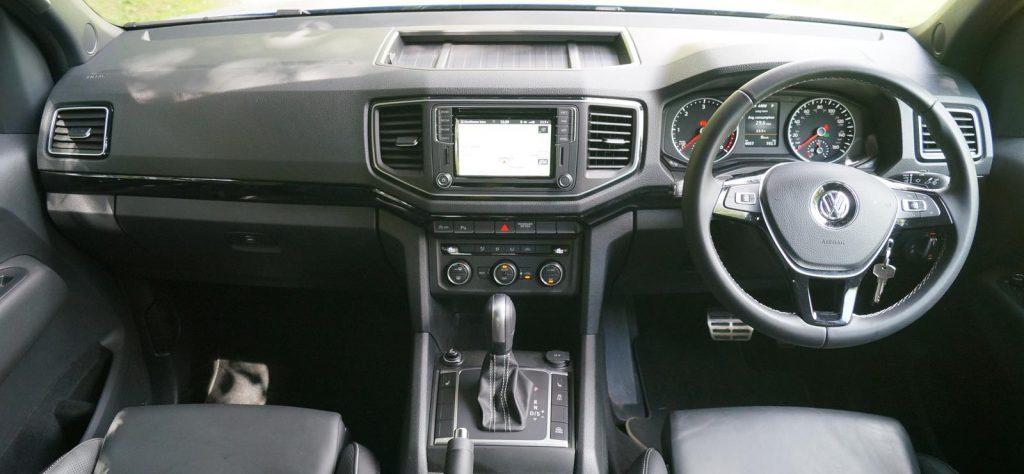 Volkswagen Amarok V6 Aventura interior review