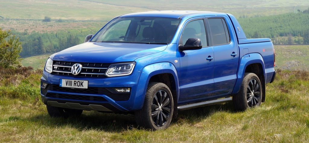 The Volkswagen Amarok is the fastest pickup truck in the UK