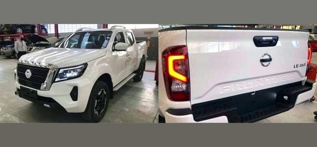 2021 Nissan Navara leaked