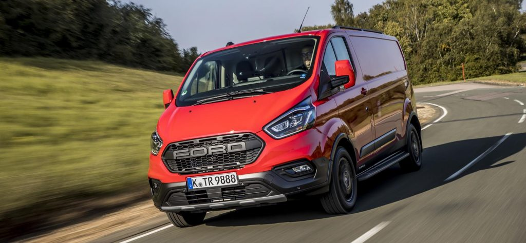 Driving the Ford Transit Custom Trail