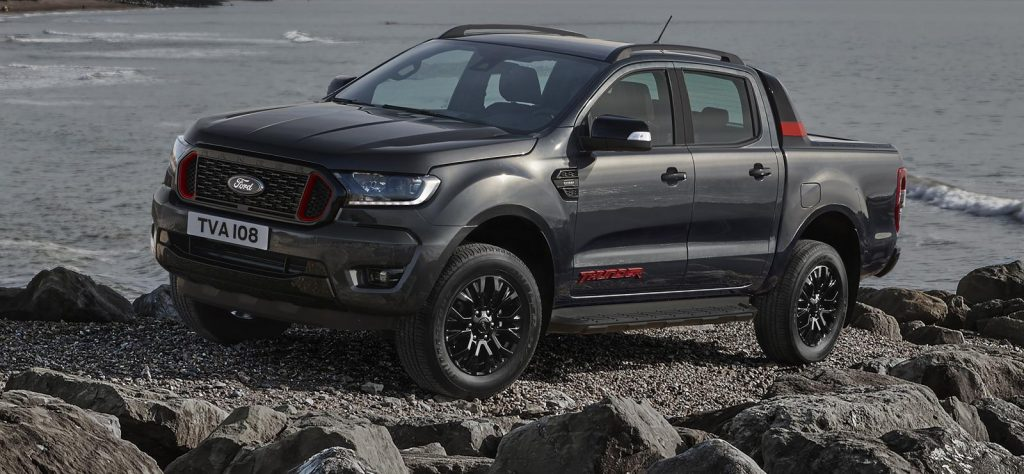 The Ford Ranger is the best-selling pickup truck in the UK