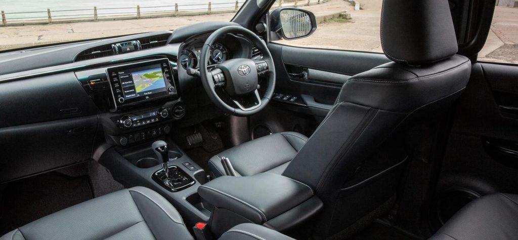 New Toyota Hilux interior