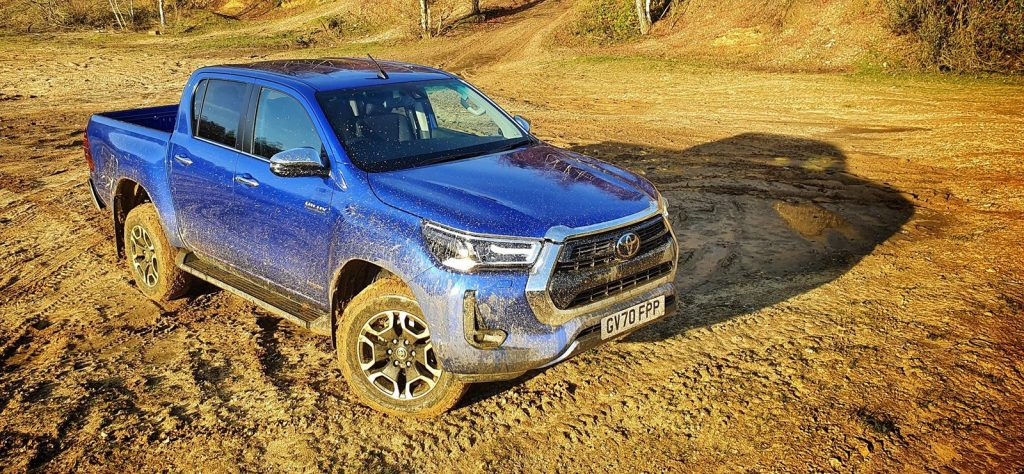 The new Toyota Hilux