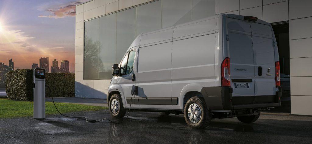 Fiat E-Ducato Electric Van