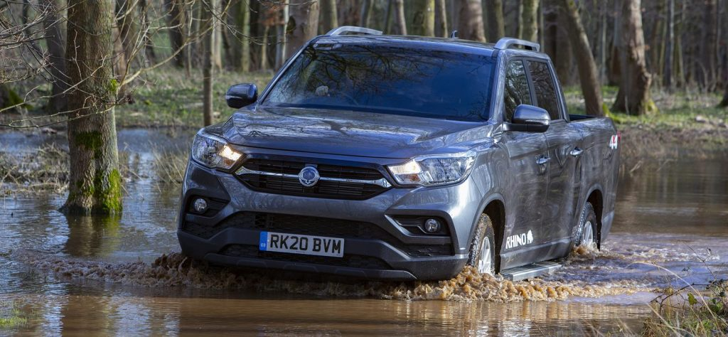 SsangYong Musso LWB Review off road