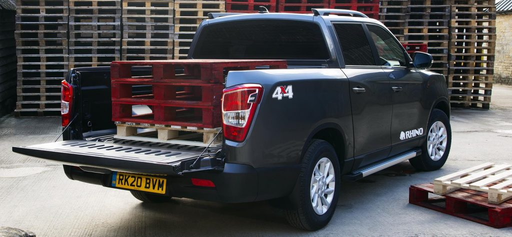 SsangYong Musso LWB Review payload
