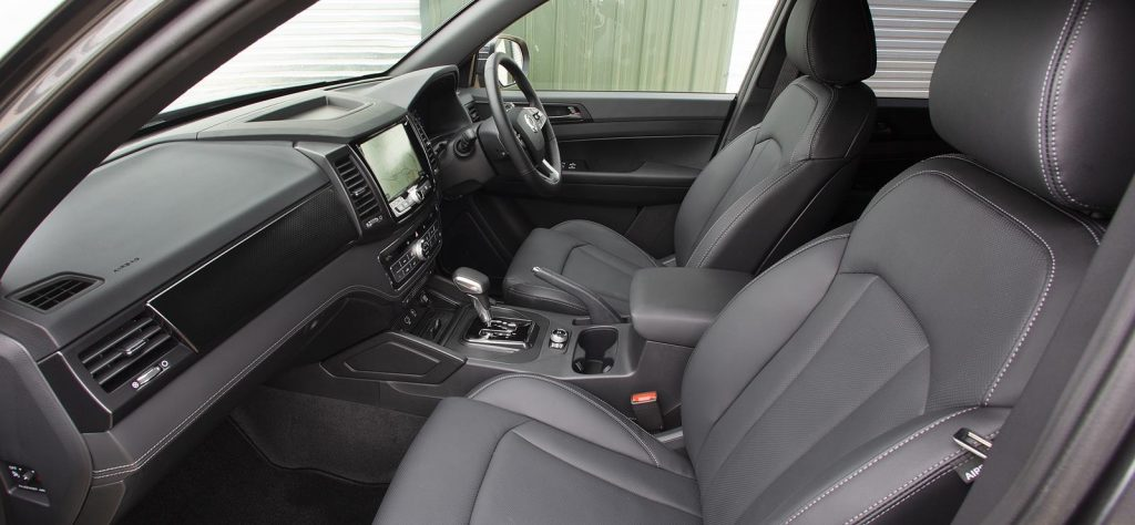 SsangYong Musso LWB Review Interior