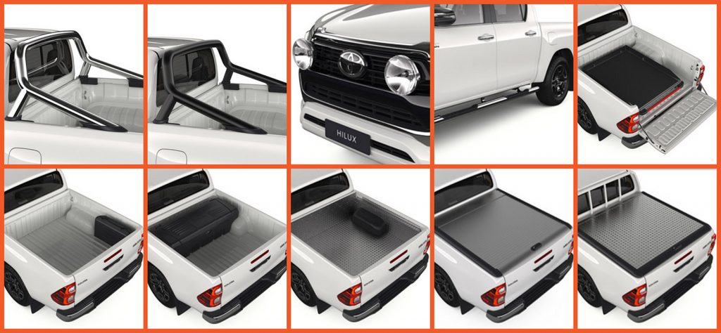 New range of Toyota Hilux accessories