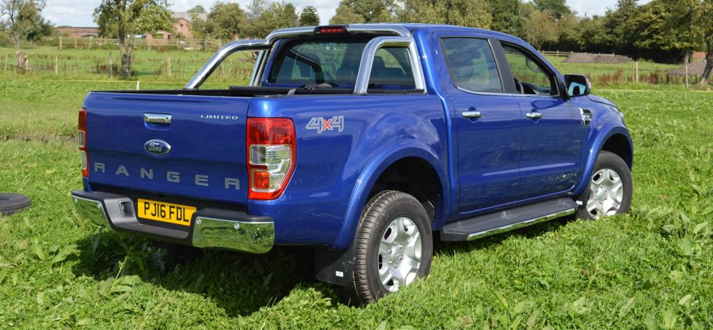 Ford Ranger vs Hilux 2016 Payload Dimensions