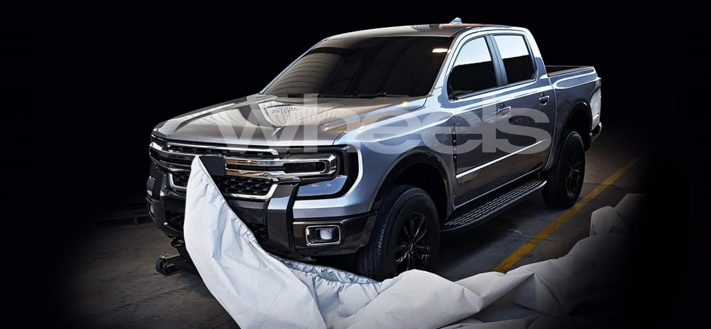 Ford Ranger, the base for the 2022 Volkswagen Amarok