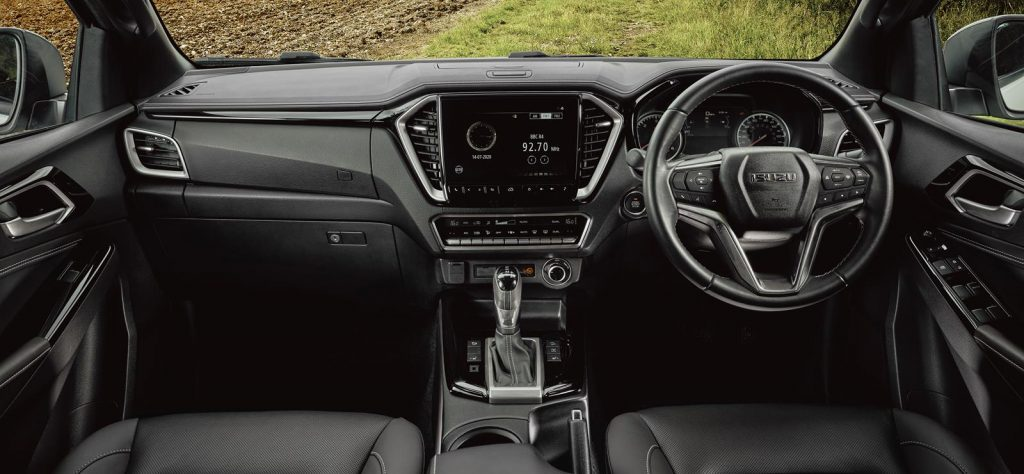 D-Max interior revealed with prices from £20,999