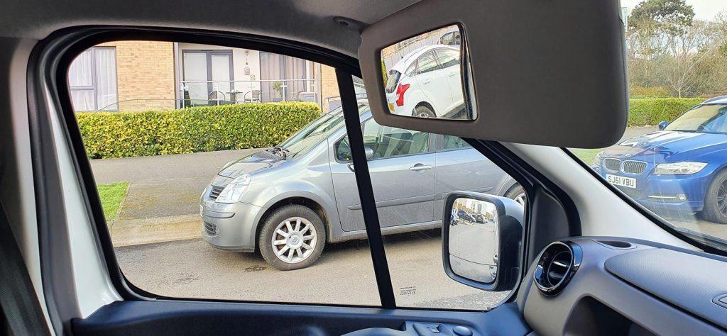 Fiat Talento wide angle mirror