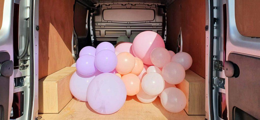 Fiat Talento cargo area