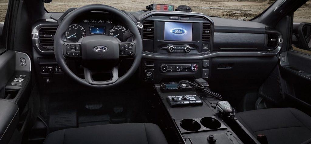 Ford F-150 Police Responder dashboard