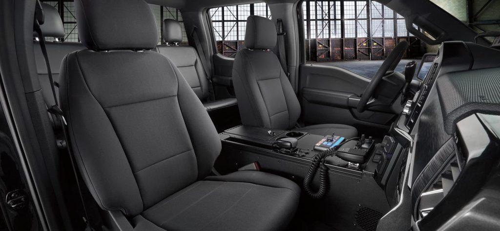 Ford F-150 Police Responder interior