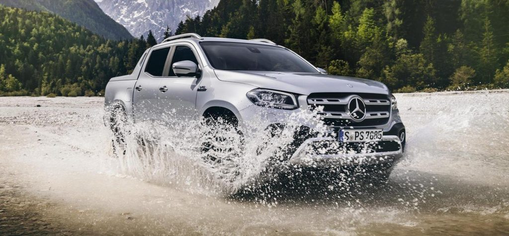 Mercedes-Benz X-Class is one of the fastest pickup trucks in the UK