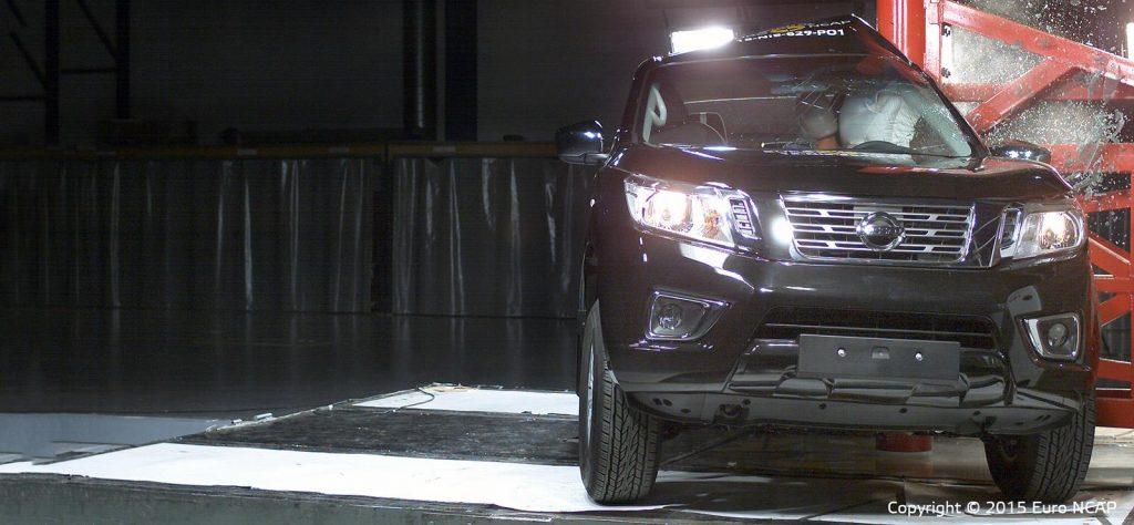 Nissan Navara Crash Test
