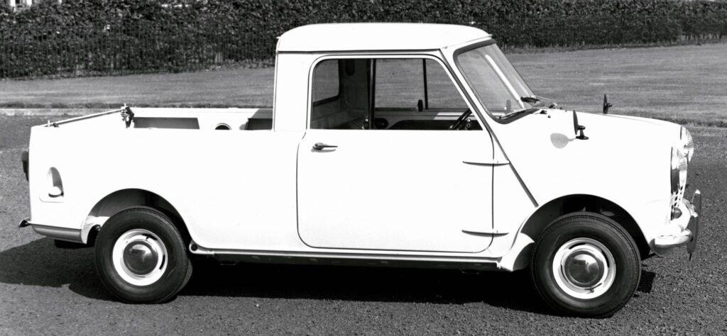 Austin Mini Pickup pre BMW