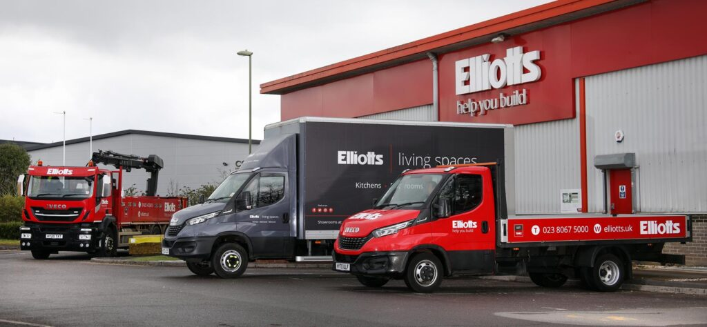 Elliotts Iveco fleet