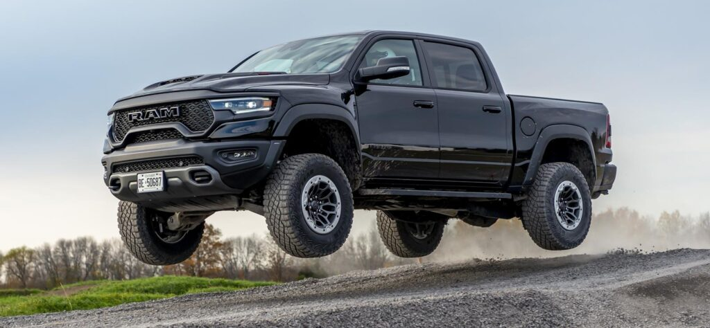 The Hennessey Mammoth SUV is based on the Ram TRX pickup.