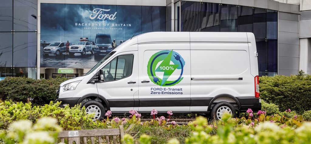 Ford E-Transit Electric Trails